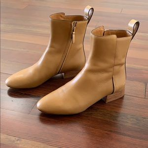 Chloe Shoes - Chloe tan ankle boot size 39 / 8.5.